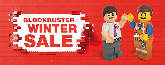 DFS Blockbuster Winter Sale Banner