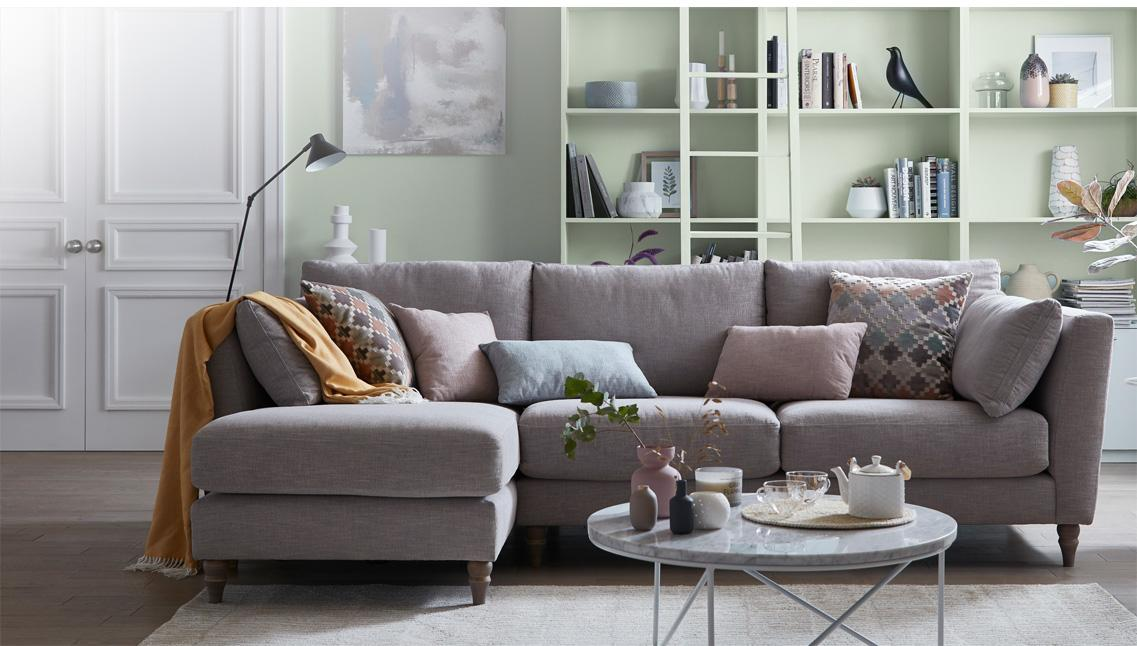 Create a cozy home with DFS & Dulux