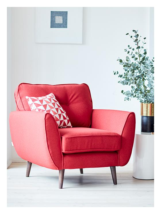 Red Zinc Chair