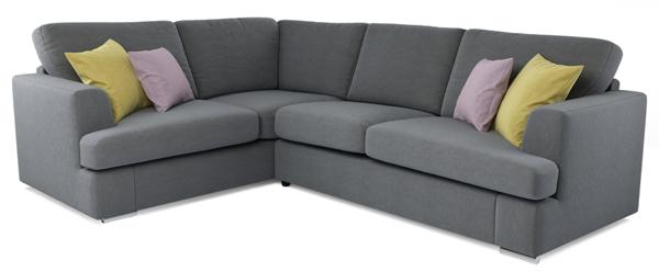 Freya corner sofa, right hand facing