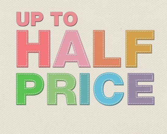Upto Half Price DFS Spring Collection