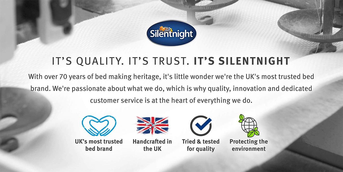 It's Quality, It's Trust, It's Silentnight