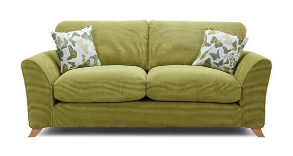 Abigail Formal Back 3 Seater Sofa