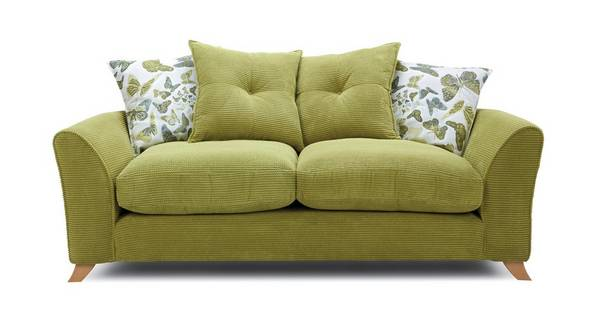 Abigail Pillow Back 3 Seater Sofa