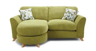 Abigail Formal Back 3 Seater Lounger Sofa