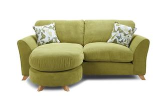Formal Back 3 Seater Lounger Sofa Escape