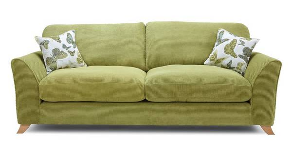 Abigail Formal Back 4 Seater Sofa