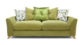 Abigail Pillow Back 4 Seater Sofa