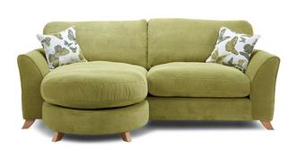 Abigail Formal Back 4 Seater Lounger Sofa