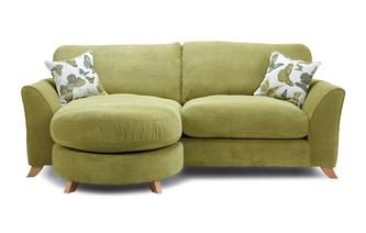 Formal Back 4 Seater Lounger Sofa Escape