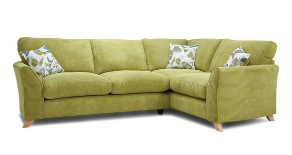 Abigail Formal Back Left Hand Facing 3 Seater Corner Sofa