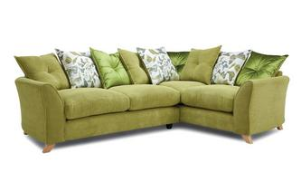 Pillow Back Left Hand Facing 3 Seater Corner Sofa Escape