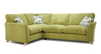 Abigail Formal Back Right Hand Facing 3 Seater Corner Sofa