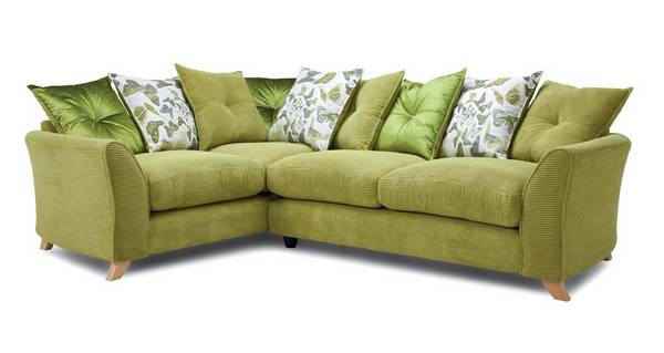 Abigail Pillow Back Right Hand Facing 3 Seater Corner Sofa