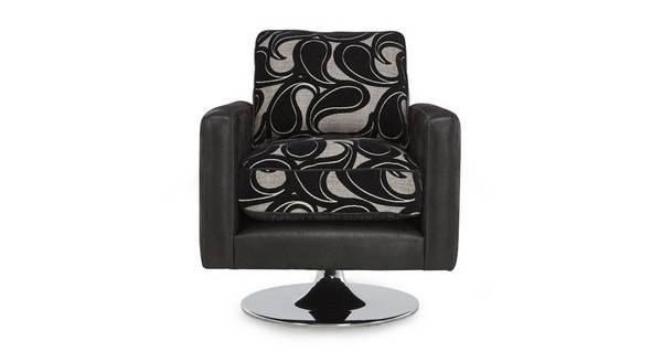 Acer Pattern Swivel Chair