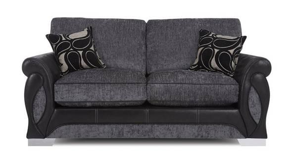 Acer Large 2 Seater Formal Back Sofa