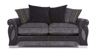 Acer Large 2 Seater Pillow Back Sofa