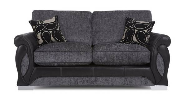 Acer Large 2 Seater Formal Back Deluxe Sofa Bed