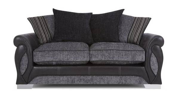 Acer Large 2 Seater Pillow Back Deluxe Sofa Bed