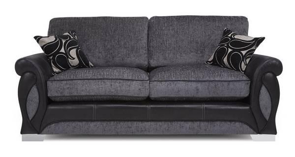 Acer 3 Seater Formal Back Sofa