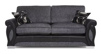 Acer 3 Seater Formal Back Deluxe Sofa Bed