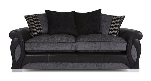 Acer 3 Seater Pillow Back Deluxe Sofa Bed