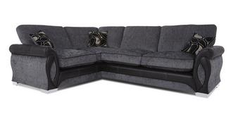 Acer Right Hand Facing 3 Seater Formal Back Corner Sofa