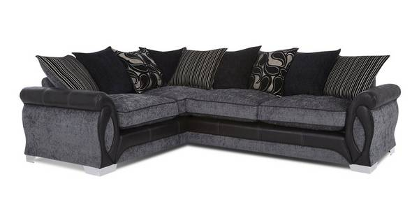 Acer Right Hand Facing 3 Seater Pillow Back Corner Sofa