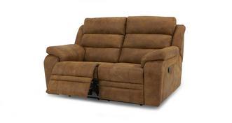 Admiral 2-zitsbank handbediende recliner