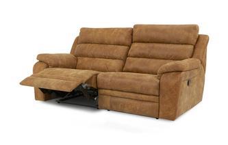 3-zitsbank handbediende recliner  Saddle