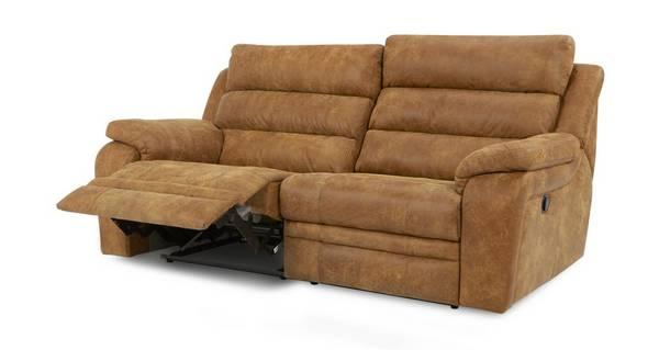 Admiral 3-zitsbank handbediende recliner