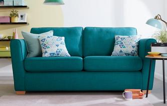 dfs teal fabric sofa homedesignview co