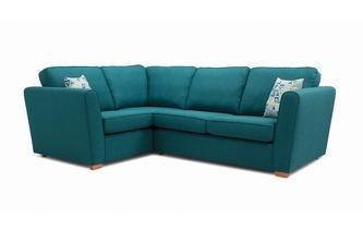 Right Hand Facing 2 Seater Corner Sofa Revive