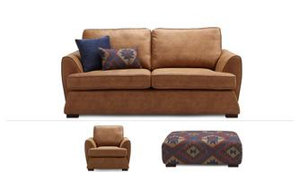 Afia Clearance 3 Seater Sofa, Chair & Banquette Stool Condor