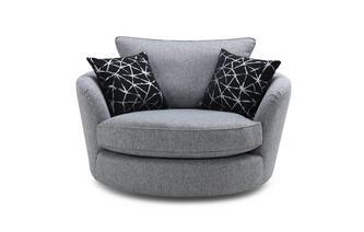Large Swivel Chair Akira