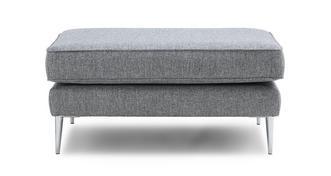 Akira Plain Rectangular Footstool