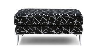 Akira Pattern Rectangular Footstool