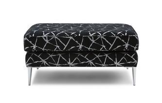 Pattern Rectangular Footstool Akira
