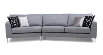 Akira Left Arm Facing Small Angled with Right Arm Facing Large Angled Sofa