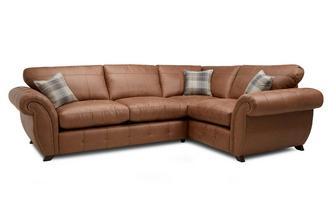 Formal Back Left Hand Facing 3 Seater Corner Sofa