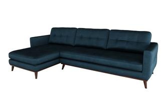 Left Hand Facing 4 Seat Chaise End Sofa