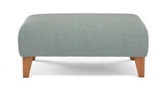 Albie Plain Banquette Footstool