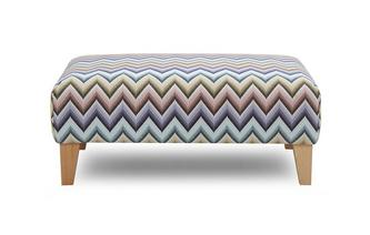 Pattern Banquette Footstool Zapp Pattern