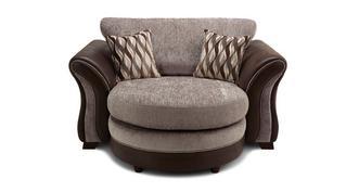 Albion Formal Back Cuddler Lounger Sofa