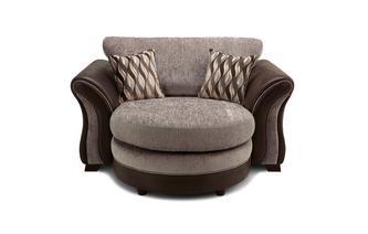 Formal Back Cuddler Lounger Sofa Chance