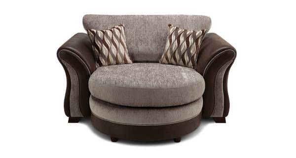 Albion Formal Back Cuddler Lounger Sofa