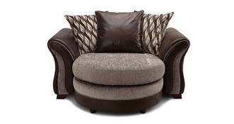 Albion Knuffel loungebank met losse rugkussens