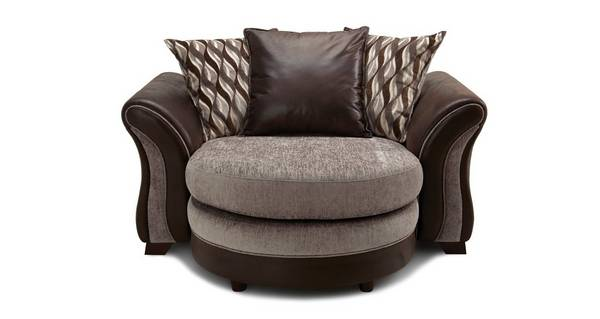Albion Pillow Back Cuddler Lounger Sofa