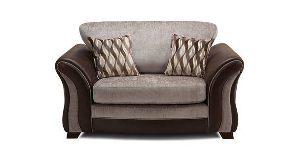 Albion Formal Back Cuddler Sofa