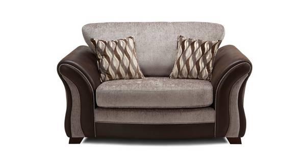 Albion Formal Back Cuddler Sofa